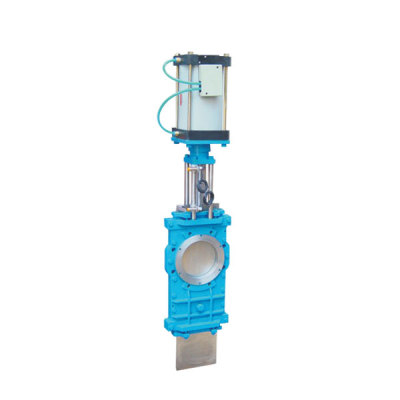 Executive standard of pneumatic gate valve