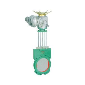 electric slurry valve
