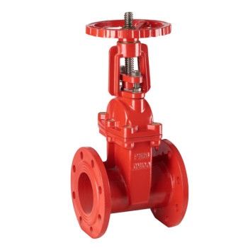 RISING STEM FIRE RESILIENT SEAT SEAL GATE VALVE
