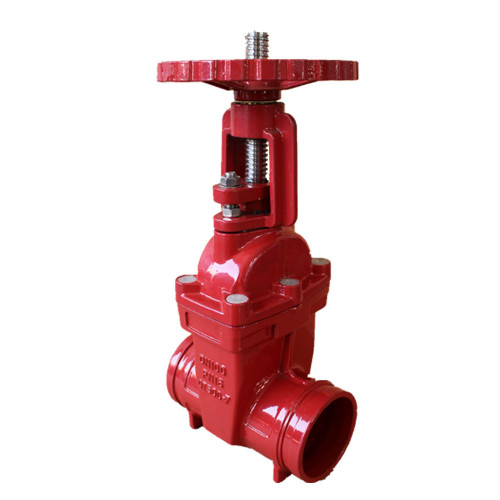 CLAMP TYPE SOFT SEALING GROOVE LIFTER GATE VALVE
