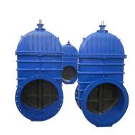 Large diameter gate valve