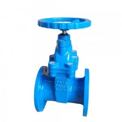 Non-rising resilent gate valve