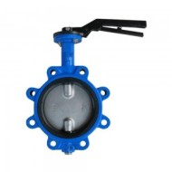 HANDLE-TO-GRIP CONVEX EAR BUTTERFLY VALVE