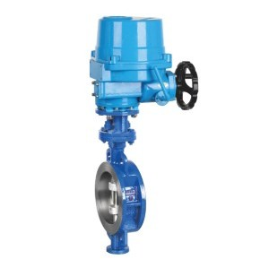 ELECTRIC DOUBLE CLIP MULTI-LAYER METAL HARD SEAL BUTTERFLY VALVE