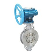 MULTI LAYER METAL HARD SEAL BUTTERFLY VALVE WITH WORM GEAR