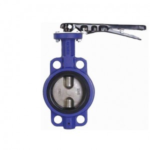 WITHOUT PIN WAFER BUTTERFLY VALVE
