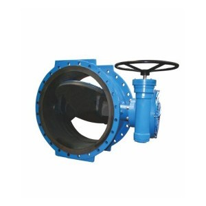 D342X WORM GEAR FLANGE TYPE FULLY LINED ECCENTRIC BUTTERFLY VALVE