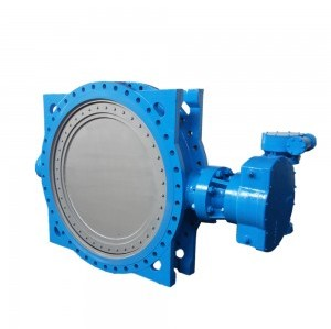 SOFT SEALED SINGLE ECCENTRIC BUTTERFLY VALVE
