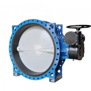 LARGE CALIBER TURBINE FLANGE BUTTERFLY VALVE