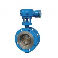 ANTI-THEFT HARD SEALED FLANGE BUTTERFLY VALVE