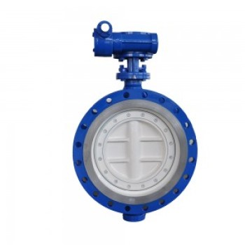 CARBON STEEL HIGH TEMPERATURE BUTTERFLY VALVE WITH METAL SEAT