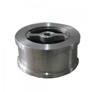 STAINLESS STEEL DISC CHECK VALVE H76W
