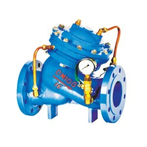 DIAPHRAGM TYPE MULTIFUNCTIONAL WATER PUMP CONTROL VALVE
