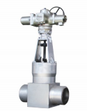 HIGH PRESSURE WELDING ELECTRIC GATE VALVE