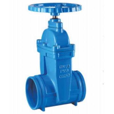 GROOVED NON RISING STEM RESILIENT SEATED GATE VALVE