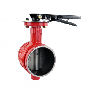 GROOVED BUTTERFLY VALVE BV