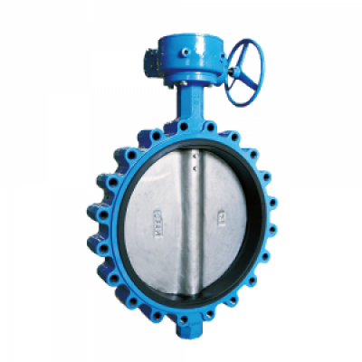 OEM CHINA PNEUMATIC DN50 CAST IRON WAFER BUTTERFLY VALVES