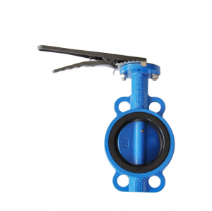 LEVER WAFER BUTTERFLY VALVE
