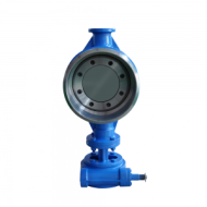 BUTTERFLY VALVE WITH CLAMP METAL HARD SEAL WELDING