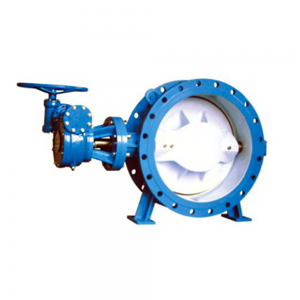 D343X RESILIENT SEATED DOUBLE ECCENTRIC FLANGE BUTTERFLY VALVE