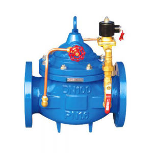 ELECTRICALLY OPERATED SERIES WATER CONTROL VALVE