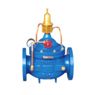 THE PRESSURE RELIEF HOLDING WATER CONTROL VALVE