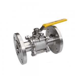 STAINLESS STEEL THREE-PIECE FLANGED BALL VALVE Q41F