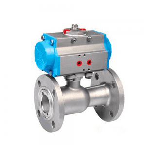 PNEUMATIC HIGH TEMPERATURE BALL VALVE Q641M