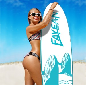 Whale Design China Wholesale Inflatable Paddle Board Hiqh Quality Surf Board Custom Sup Board blue