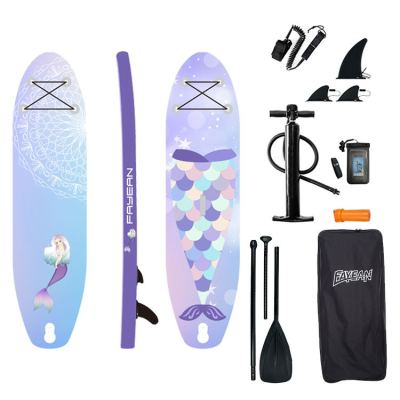 Sea-maid Design China Wholesale Inflatable Paddle Board Hiqh Quality Surf Board Custom Sup Board