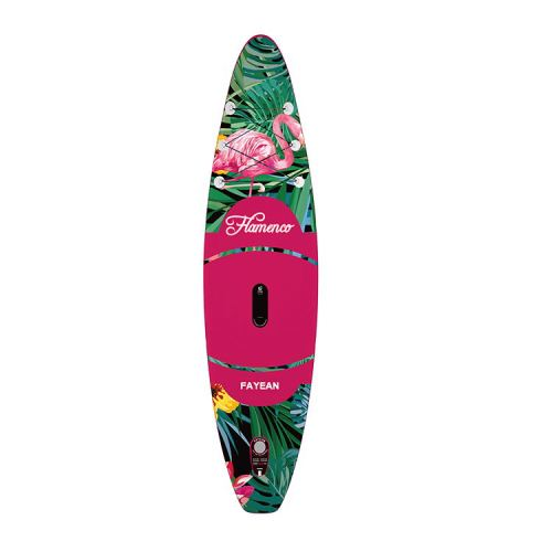 Flamingo Design China Wholesale Inflatable Paddle Board Hiqh Quality Surf Board Custom Sup Board