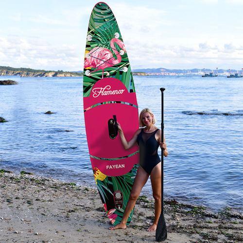 Flamingo Design China Wholesale Inflatable Paddle Board Hiqh Quality Surf Board Custom Sup Board