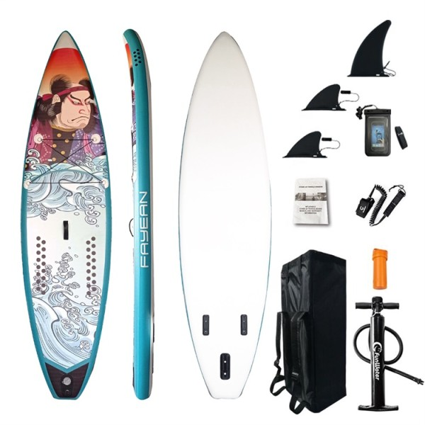 Bushidao Design China Wholesale Inflatable Paddle Board Hiqh Quality Surf Board Custom Sup Board