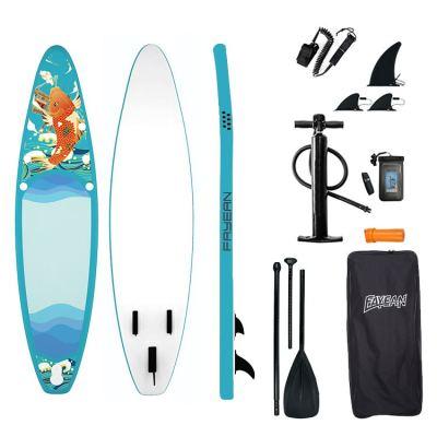KOI Design China Wholesale Inflatable Paddle Board Hiqh Quality Surf Board Custom Sup Board