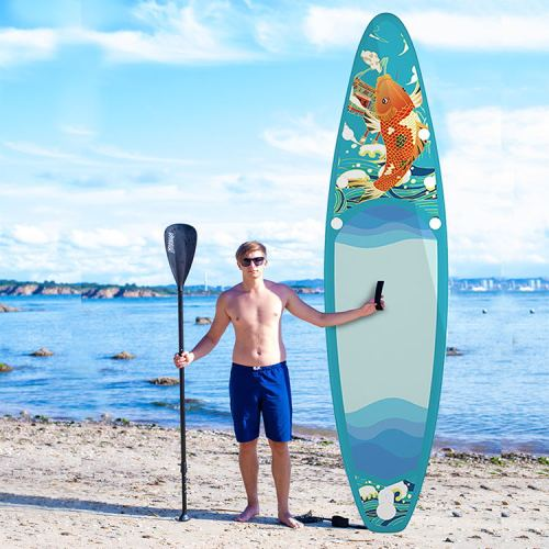 KOI Design China Wholesale Inflatable Paddle Board Hiqh Quality Surf Board Custom Sup Board