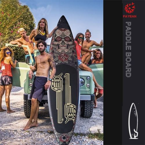 Gun Rose Design China Wholesale Inflatable Paddle Board Hiqh Quality Surf Board Custom Sup Board