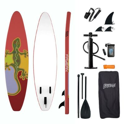 Gecko Design China Wholesale Inflatable Paddle Board Hiqh Quality Surf Board Custom Sup Board