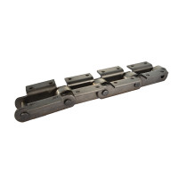 Attachments for M series engineering metric roller conveyor chain