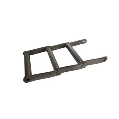 Welded steel drag  conveyor chain