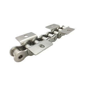 Short pitch stainless steel chain WA&WK series attachments