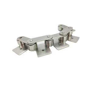 Double pitch stainless steel chain SA&SK attachments