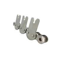 Stainless steel conveyor chain | Popsicle machine chain | Stainless steel chain attachments | Bakery oven chains