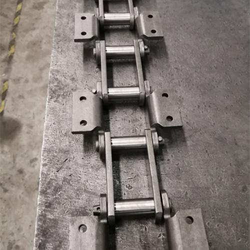 Alloy steel engineering steel bush chain for bucket elevator