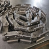 K2 attachment steel cane carrier conveyor chain for bucket elevator