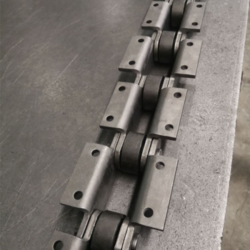 K2 attachment steel cane carrier conveyor chain for bucket elevator