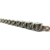 Film gripper stainless steel chain