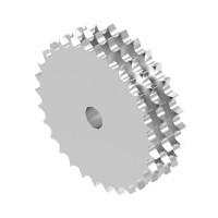 triplex plate wheel sprockets (B) 32B-3 (50.8X30.99mm)