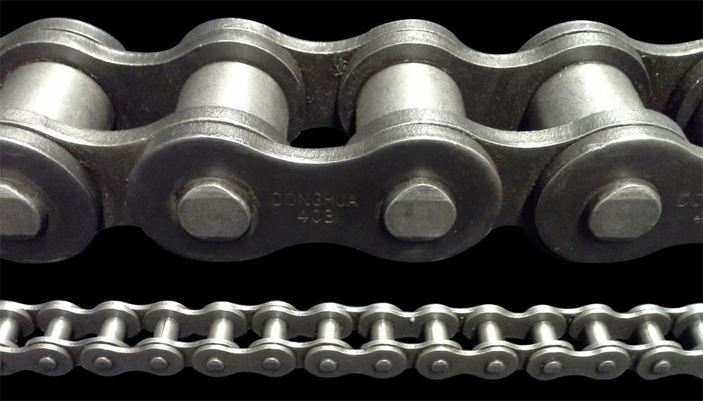 the five design steps of a roller chain