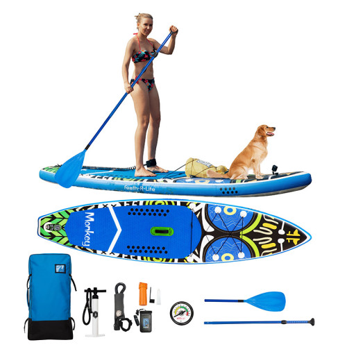 Inflatable Stand Up Paddle Board-Monkey