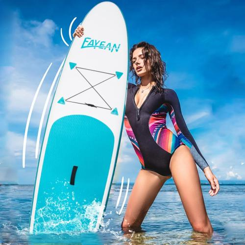 Inflatable Stand Up Paddle Board-Blue Whale